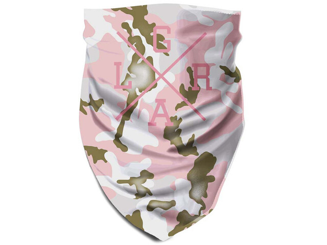 Loose Riders Tube Scarf forest pink camo